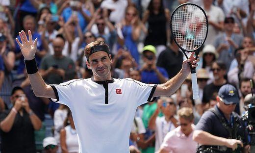 Roger Federer, David Goffin