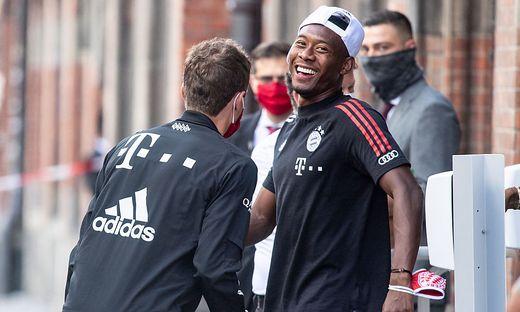 FC Bayern Muenchen - Empfang im Rathaus