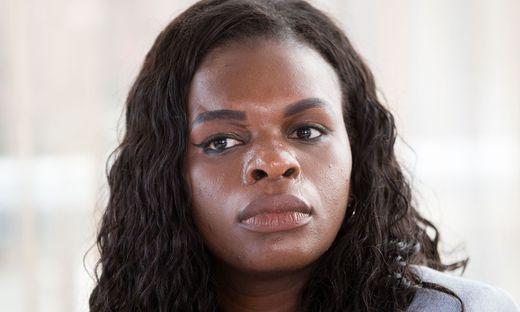 Mireille Ngosso, Wiener SPÖ-Abgeordnete und Mit-Initatorin der Black Lives Matter Bewegung.