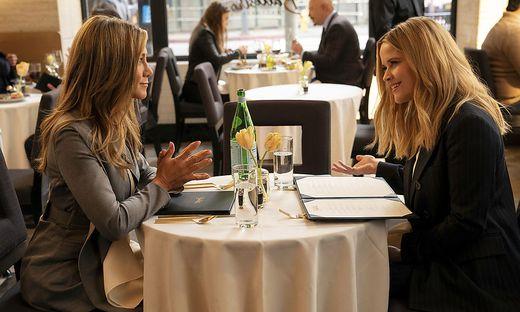 Jennifer Aniston und Reese Witherspoon sind nur vor der Kamera ein Herz und eine Seele