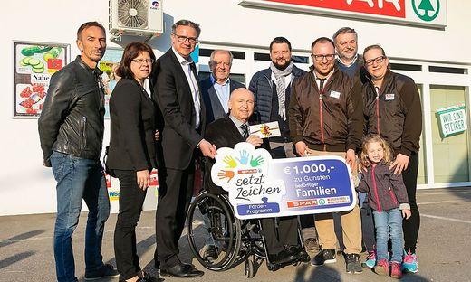 Eröffnung des neuen Spar-Markts in Ottendorf