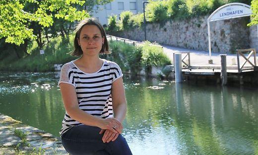 Sandra Hölbling-Inzko ist die Obfrau der Lendhauer, die im Hafen Kultur verankern wollen