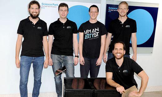 Spin-off der Technischen Universität: das Team von ARTI