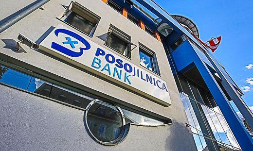 Posojilnica Bank Klagenfurt Fusion mit Zveza Bank