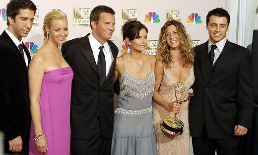 US-EMMYS-CAST OF FRIENDS-OUTSTANDING COMEDY