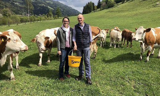 Barbara und Georg Petzl führen den einzigen Viehhandel im Bezirk Murau