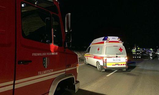 Feuerwehr, Rettung und Polizei waren im Einsatz