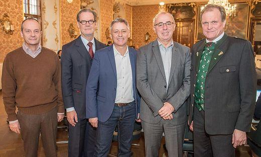 Murgg, Deutschmann, Schönleitner, Petinger, Dirnberger