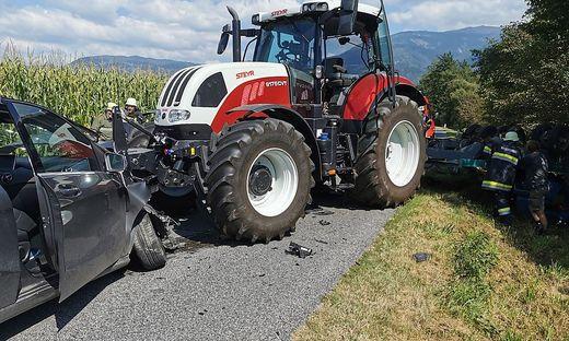 Unfall auf der Eitweger Landesstraße