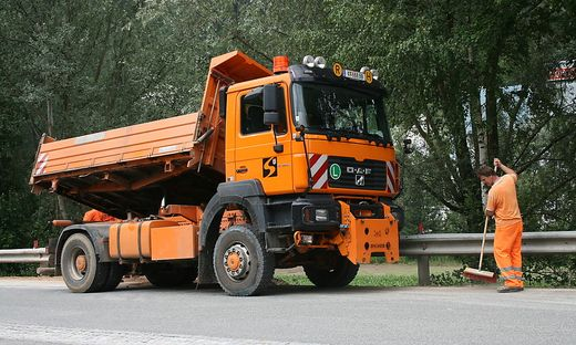 Umgerüstet werden zwei Fahrzeuge der Straßenmeisterei Kärnten