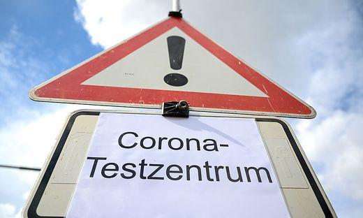 Coronavirus - Corona-Testzentrum