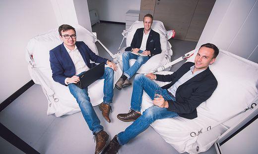 Markus Stadlmair, Julian Jank, Johannes Schuster