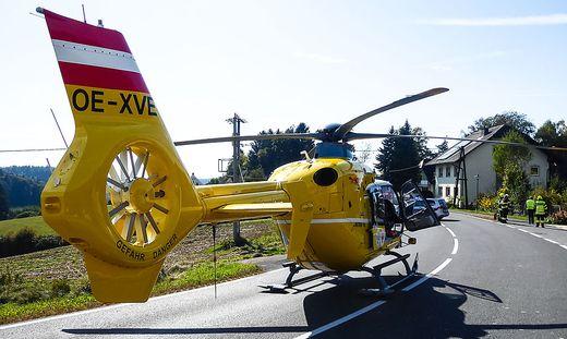 Motorradunfall in Pirching am Traubenberg