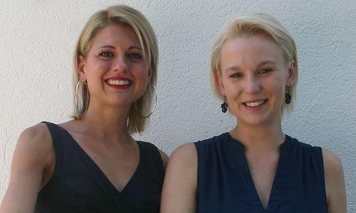 Lisa-Maria Fatzi und Michaela Tschemernjak organisieren in der Villacher Perau Apotheke ein Fest für's Leben