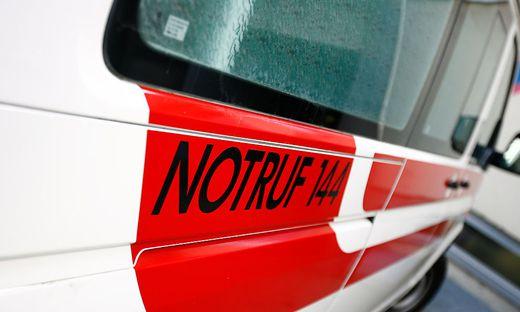 Ein 20-Jähriger musste nach einem Unfall auf der B 100 in Osttirol ins Krankenhaus eingeliefert werden (Symbolfoto)