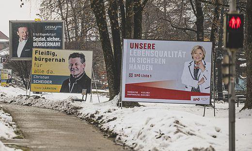 Vorgänger gegen Amtsinhaberin: In Klagenfurt wird eine Bürgermeister-Stichwahl Christian Scheider gegen Maria-Luise Mathiaschitz prognostiziert