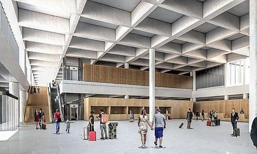 Der neue Terminal des Flughafens Laibach wird am Mittwoch eröffnet