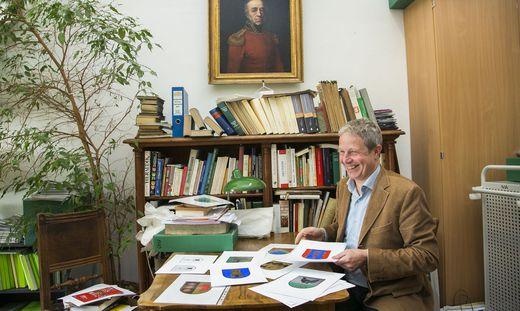 Gernot Obersteiner, Geschäftsführer der Ortsnamenkommission