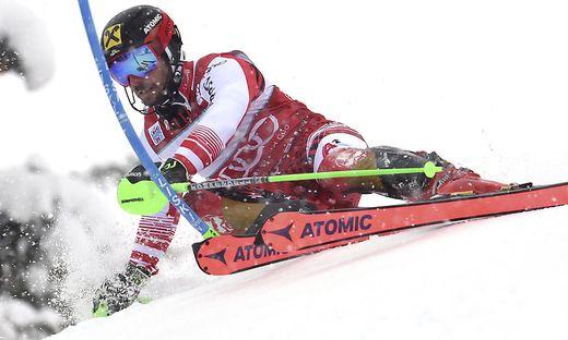 Unglaublich: Marcel Hirscher siegte auch im Slalom von Adelboden