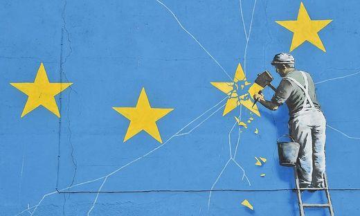 Banksy - und wie er den Brexit sieht