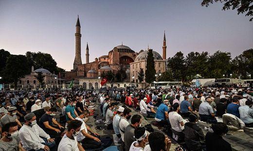 Mit der Umwandlung der Hagia Sophia in eine Moschee dreht der türkische Präsident Recep Tayyip Erdoğan am Rad der ganz großen Gefühle