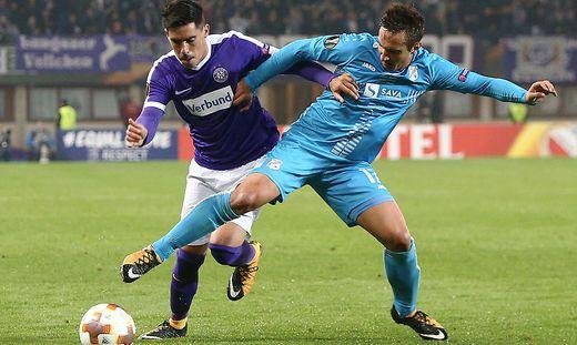 SOCCER - EL, A.Wien vs Rijeka