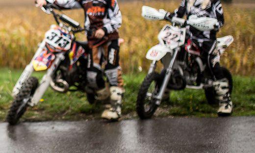 Kinder Radfahrer Unternberg Griffen Oktober 2015