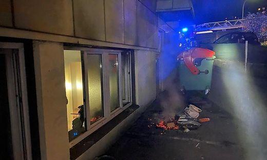 Die Feuerwehren konnten den Brand rasch lokalisieren