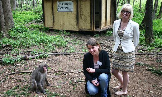 Lena Pflüger und Svenja Gaubatz haben das Forschungszentrum gegründet