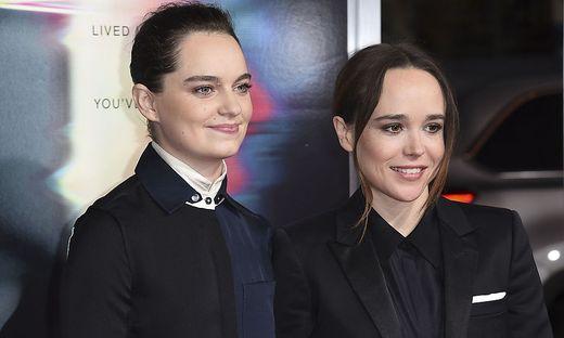 Emma Portner (links) und Elliot Page
