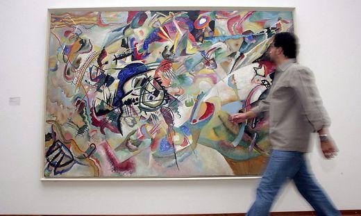 """""""Komposition VII"""" von Wassily Kandinsky aus dem Jahr 1913"""