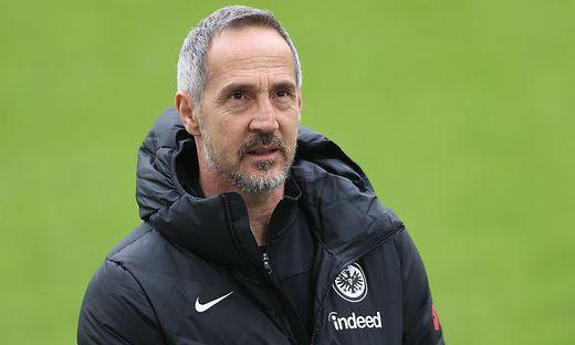 Eintracht Frankfurt - Trainer Adi Huetter