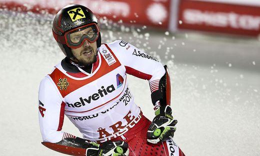 Marcel Hirscher, WM, Aare, Riesentorlauf