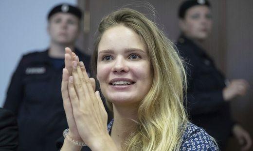 Pussy-Riot-Aktivistin Veronika Nikulschina