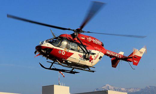 Der RK 1 flog den Schwerverletzten ins Klinikum