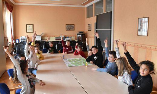 Abstimmungen stehen auch im Kindergemeinderat an der Tagesordnung