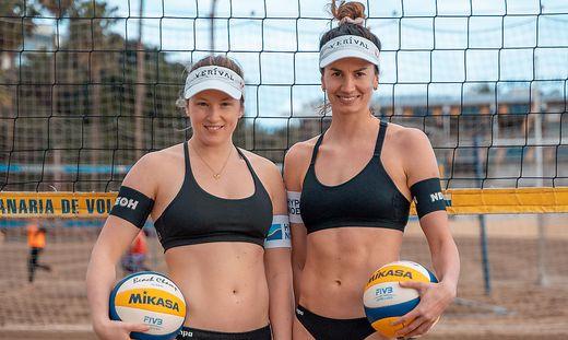 Kathi Schützenhöfer (links) und Lena Plesiutschnig wollen über die Rangliste zu Olympia
