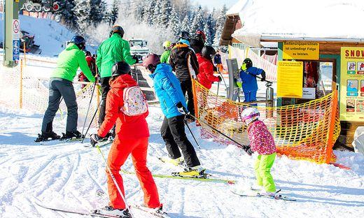 Simonhoehe Kaernten Ski Skigebiet Schi Schifahren Schigebiet