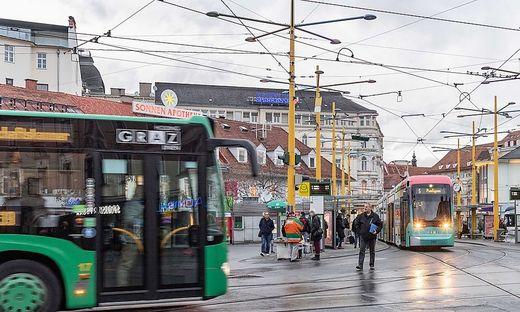 Öffis in Graz