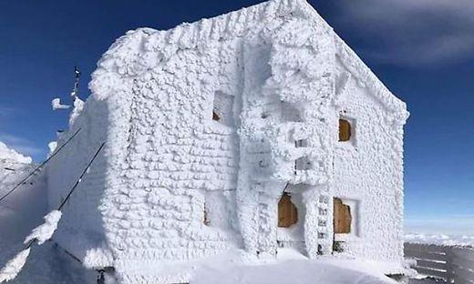 Fantastische Fotos von der Erzherzog-Johann-Hütte