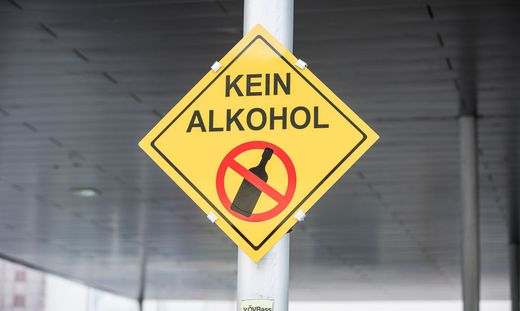 Alkoholverbot Villach Hauptbahnhof