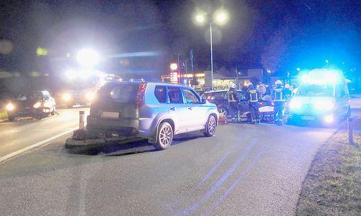 Unfall in Pöllau