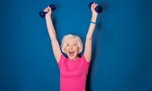 Die Sportunion Steiermark zeigt, wie man sich auch im Alter fit halten kann.