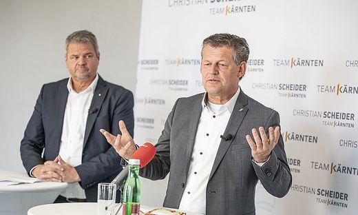 PK Team Kaernten Koefer Scheider Dolinar Klagenfurt Maerz 2021