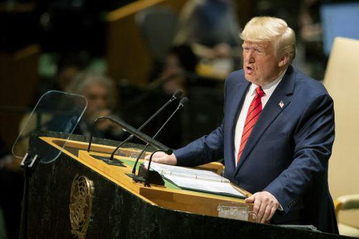 US-Präsident Trump vor der UNO-Generalversammlung