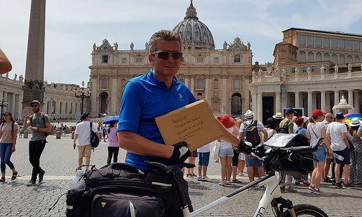 Stabentheiner will die Unterschriften in Rom zweifach deponieren