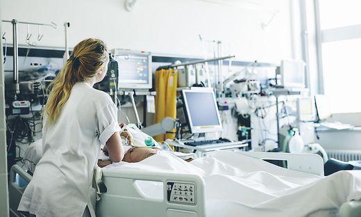 Derzeit sind in Graz am Klinikum und am LKH II noch 102 Intensivbetten frei.