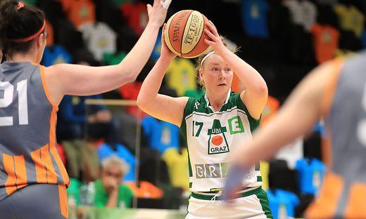 Nina Krisper unterlag mit UBI Graz zum Final-Auftakt gegen Klosterneuburg