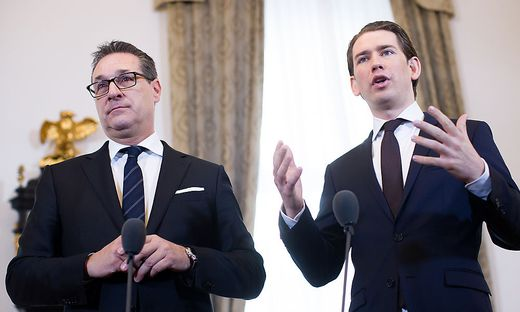 MINISTERRAT: STRACHE / KURZ