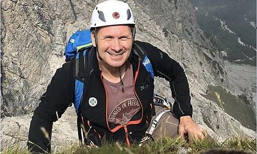 Werner Hörner ist privat und beruflich gerne in den Bergen unterwegs